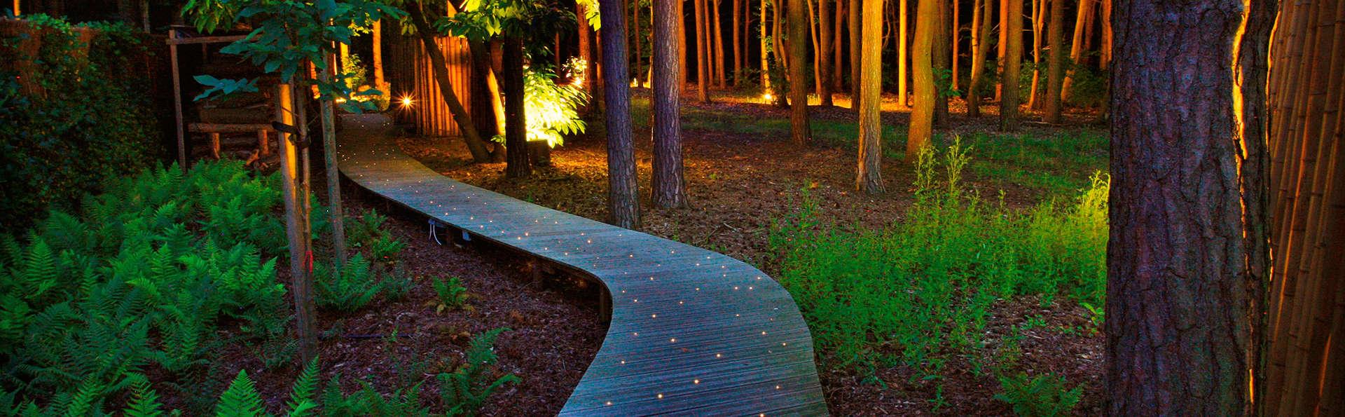 Vivez un week-end inoubliable avec un jacuzzi privé dans la nature (à partir de 2 nuits)