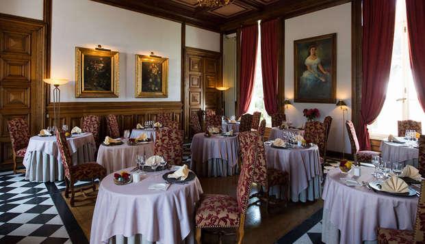 Week-end avec dîner dans un château près d'Etretat