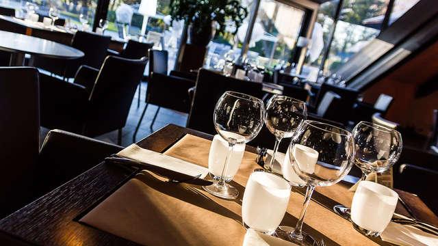 Week-end avec dîner près du lac du Bourget, à côté d'Aix-les-Bains