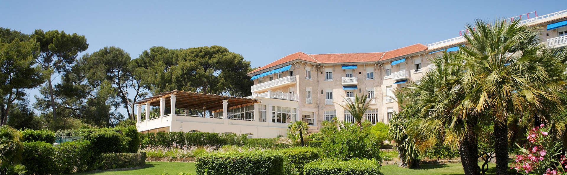 Offre spéciale Black Friday: Séjour dans un hôtel du XIXème siècle à Saint Cyr sur mer !