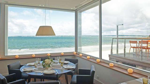 Séjour et dîner 4 étoiles face à l'océan à Concarneau