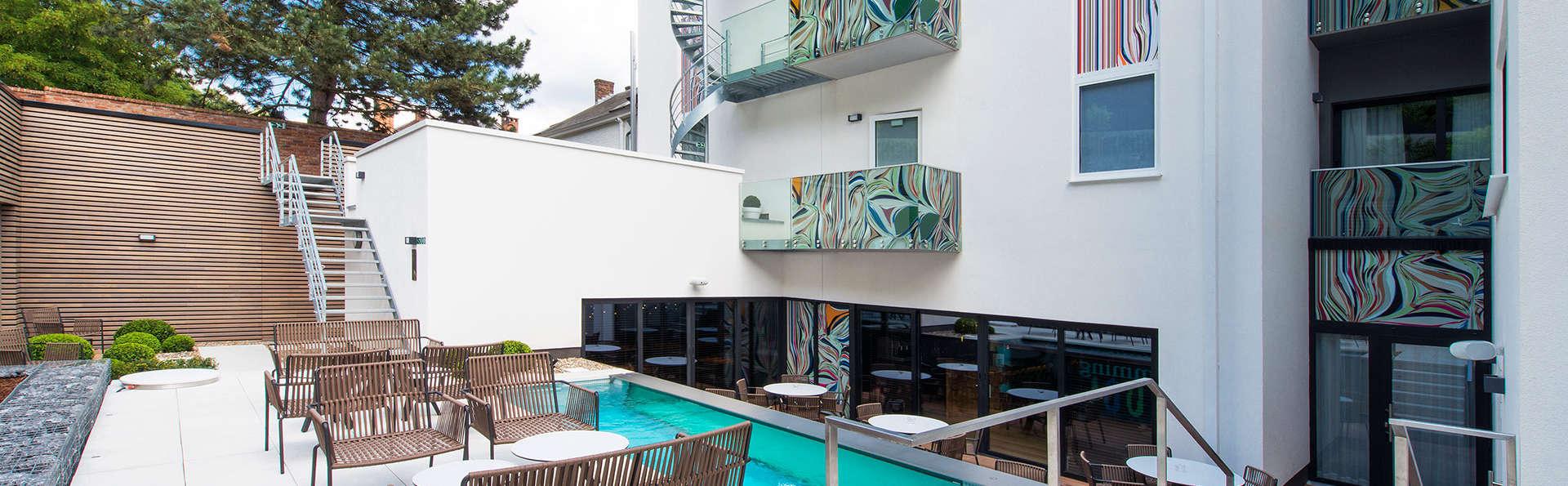 Week-end dans un hôtel design à proximité de la Citadelle de Namur