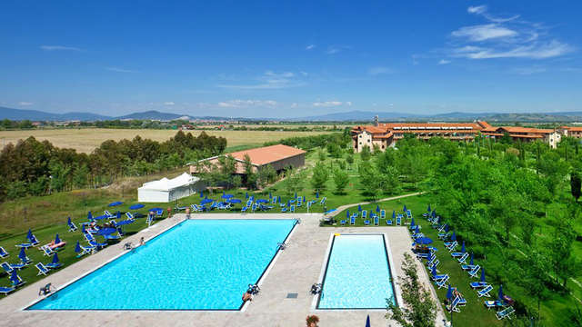 Weekend relax e benessere con entrata spa in Toscana