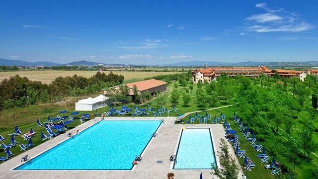 Ontspanning en welzijn onder de Toscaanse zon