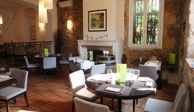 Escapada con cena cerca de Aix-en-Provence