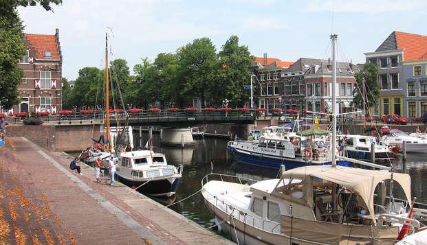 Visitez la ville de Gorinchem et admirez la vue sur la rivière Waal