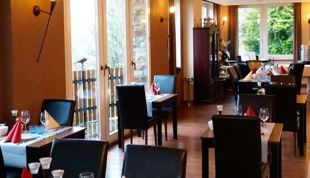Charmante villa voor een verblijf met halfpension in de Ardennen (vanaf 2 nachten)