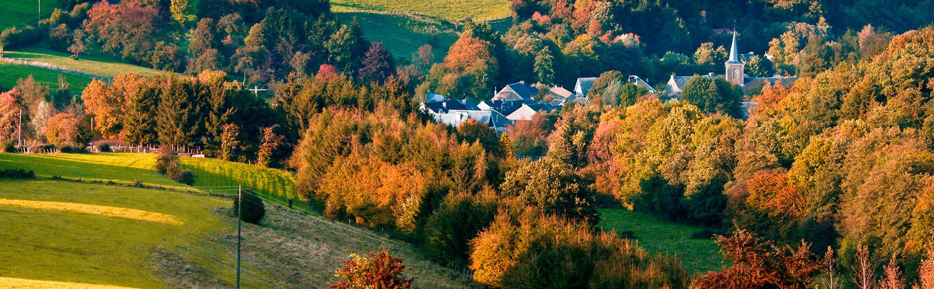 Nature, charme et déjeuner et dîner dans les belles Ardennes