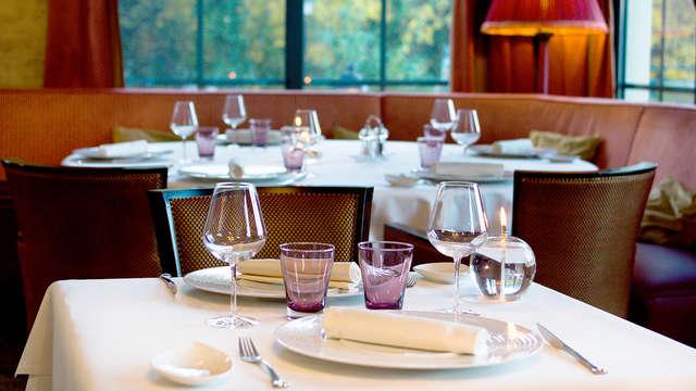 Week-end détente avec dîner gourmand à 25 minutes de Colmar