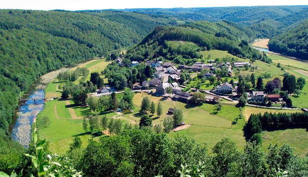 Speciale aanbieding: ontspanning met toegang tot spa in de Belgische Ardennen! (vanaf 3 nachten)