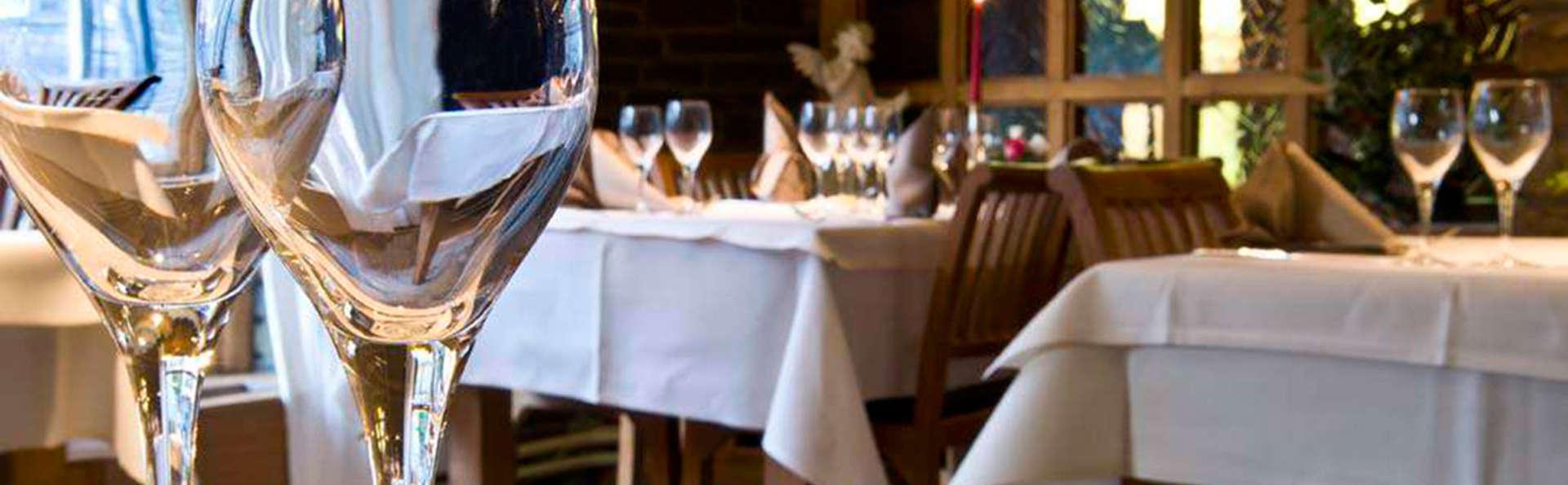 Week-end gastronomique et bien-être avec 2 dîners à Houffalize (à partir de 2 nuits)