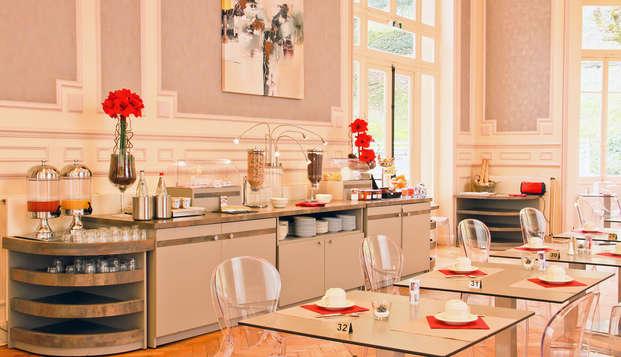 Hotel Mercure Saint-Nectaire Spa Bien-etre - Buffet