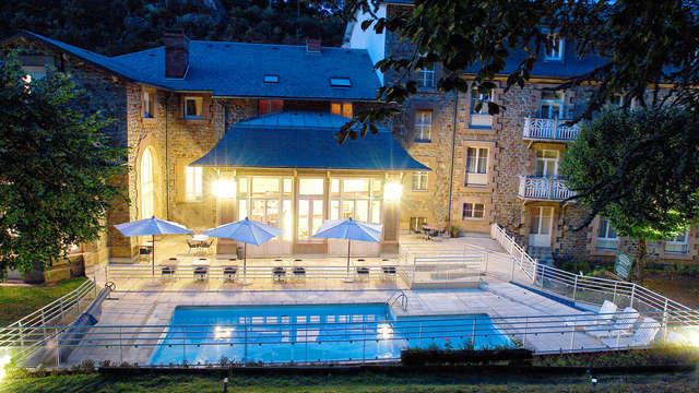 Séjour romantique avec dîner et privatisation du spa à Saint-Nectaire