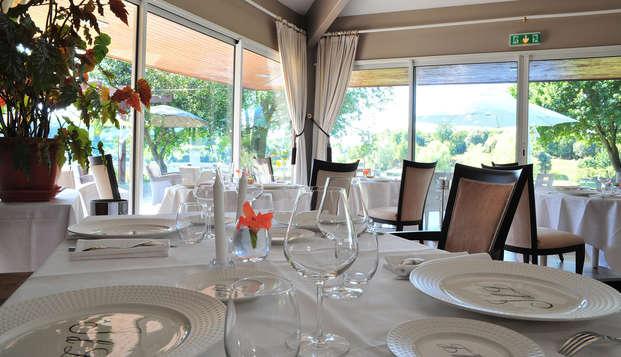 Hotel The Originals Les Jardins du Lac ex Relais du Silence - restaurant
