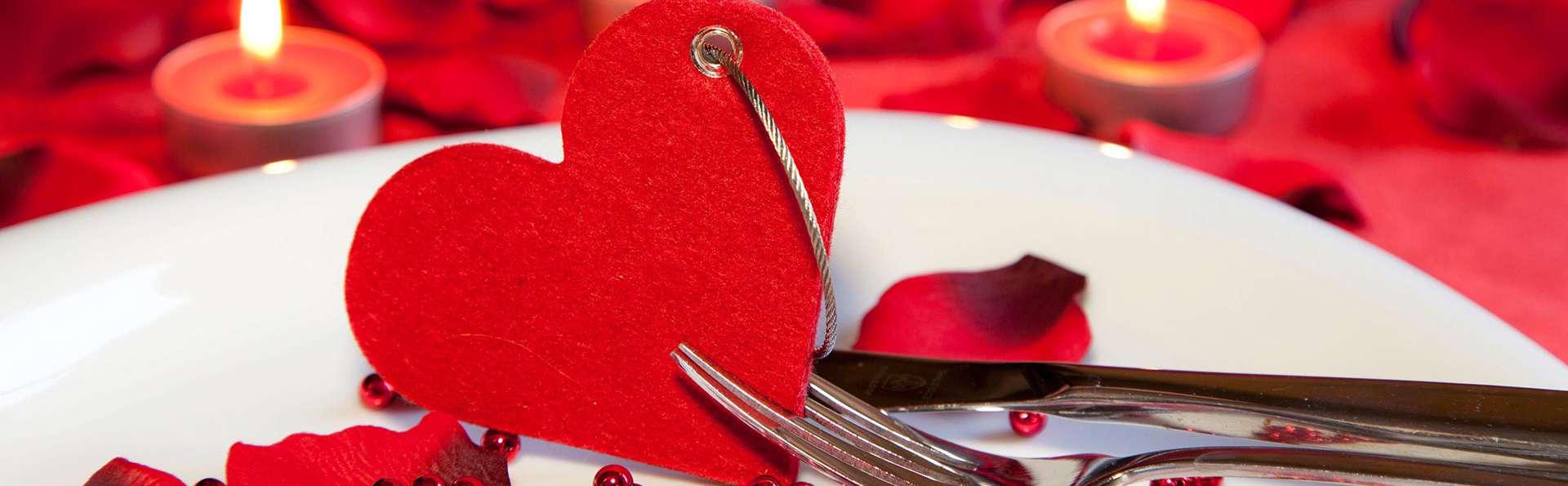 Fêtez la Saint-Valentin avec un dîner à Bagnoles de l'Orne