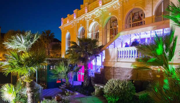 Escapade 4* dans un hôtel de charme de la Côte d'Azur avec dîner