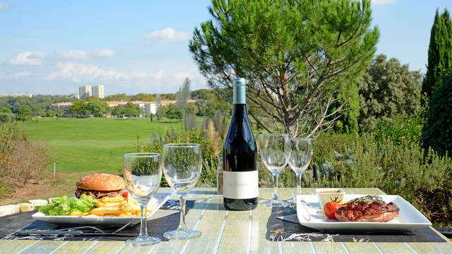 Escapada gastronómica en un hotel con golf cerca de Montpellier