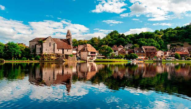 Week-end de charme avec dîner dans la vallée de la Dordogne
