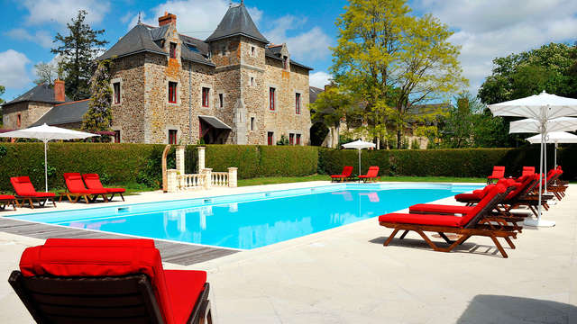 Hotel Golf Spa de la Bretesche - pool