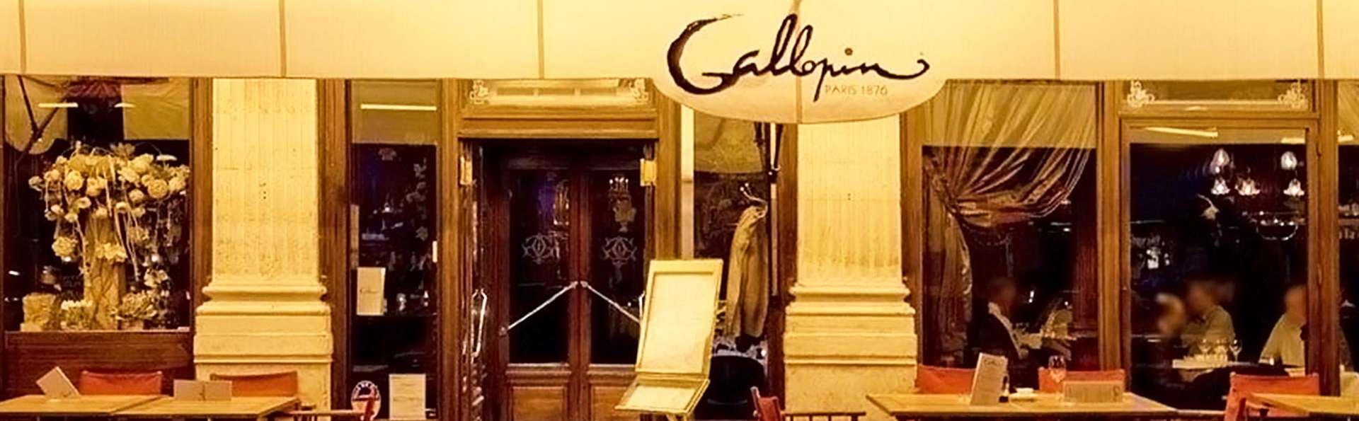 Séjour détente à Paris et dîner dans la fameuse Brasserie Gallopin !