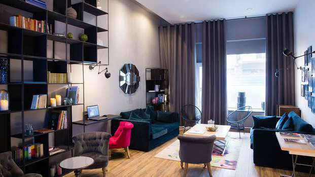 Séjour dans un charmant hôtel parisien
