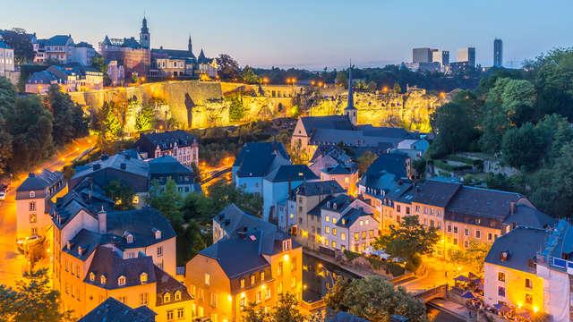 Hotel moderno nel cuore di Lussemburgo (da 2 notti)