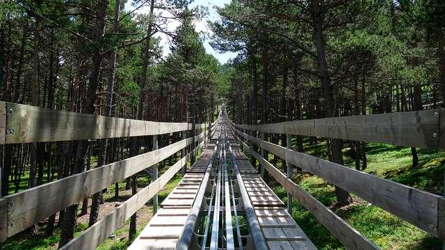 Planazo en Andorra: Tobotronc, tirolina, Xtrem Jump, Circuito Spa y mucho más