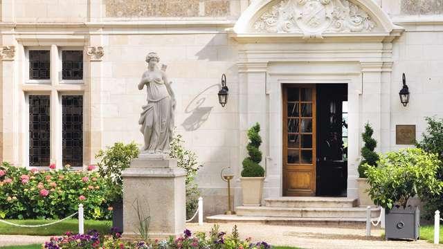 Chateau de Noizay - entrance