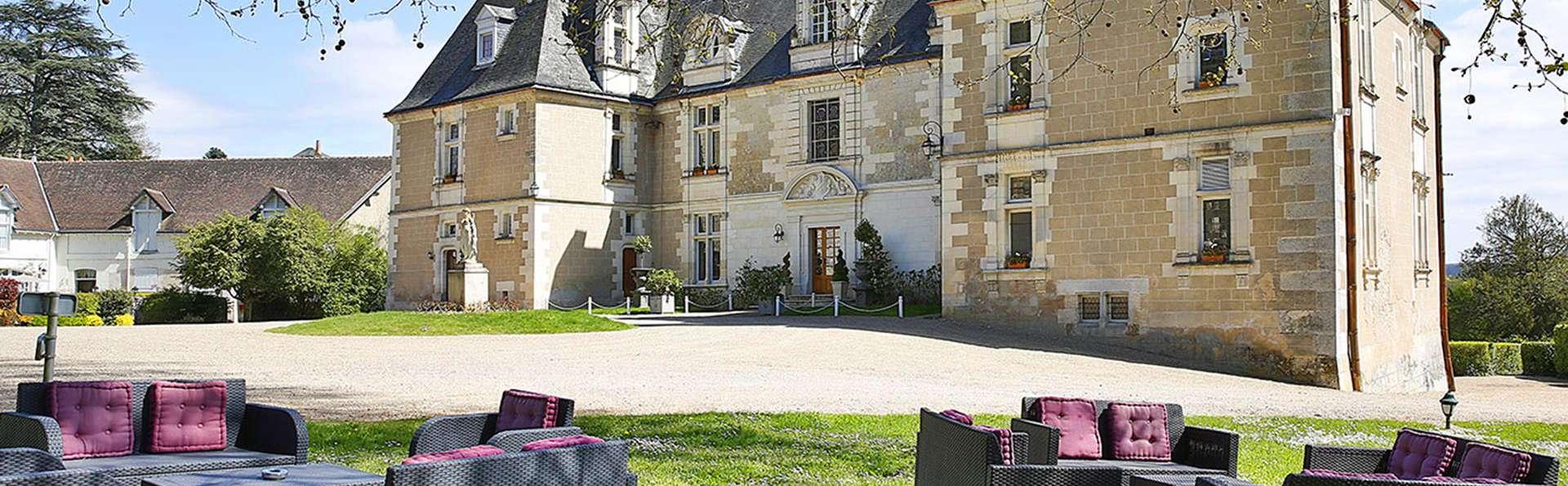 Week-end dans un superbe château au cœur de la Touraine