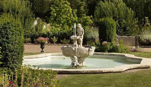 Chateau de Noizay - garden