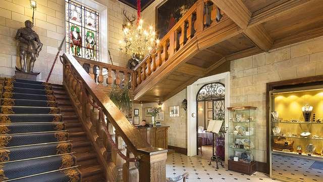 Chateau de Noizay - hall reception
