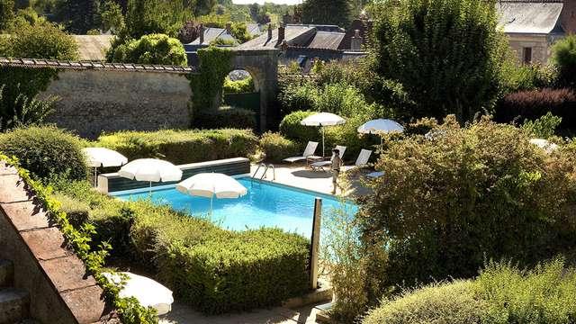 Chateau de Noizay - pool