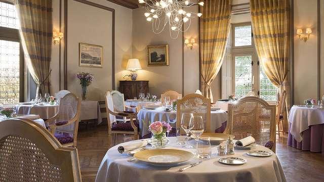 Week-end avec dîner gastronomique dans un ancien château du XVIe siècle