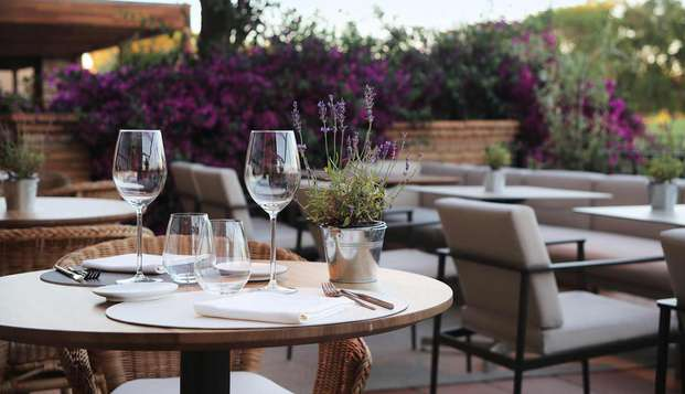 Hotel Peralada Wine Spa Golf - terras