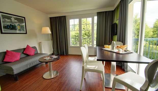 Najeti Hotel du Parc - livingroom
