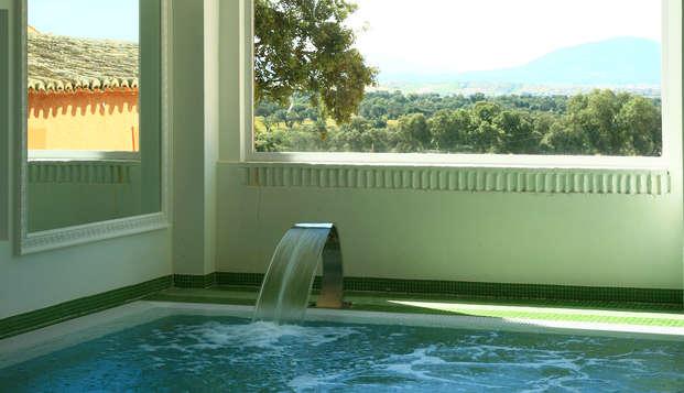 Escapada 5* con spa diario, safari y desayuno de lujo cerca de Madrid