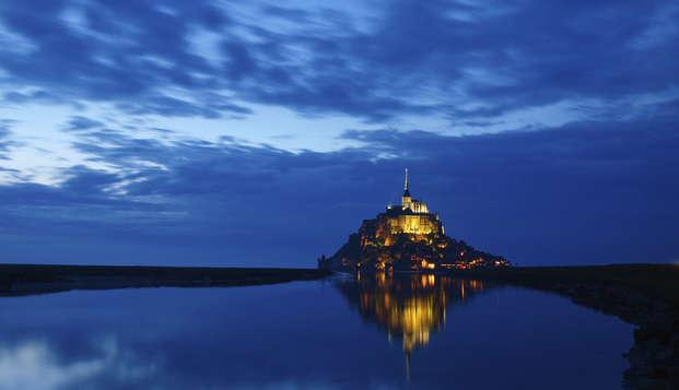 Détente au cœur de Rennes et visite de l'Abbaye du Mont Saint-Michel (à partir de 2 nuits)