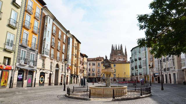 Escapada en el centro de Burgos con entradas al Museo de la Evolución Humana