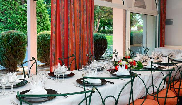 Hotel The Originals Clos St Eloi ex Relais du Silence - Restaurant-