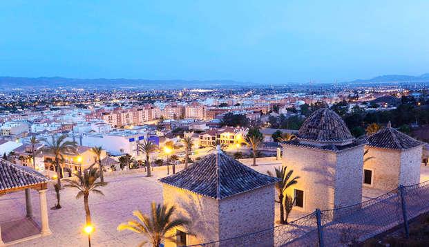 Escapada con Cena gastronómica y acceso al Spa en Lorca