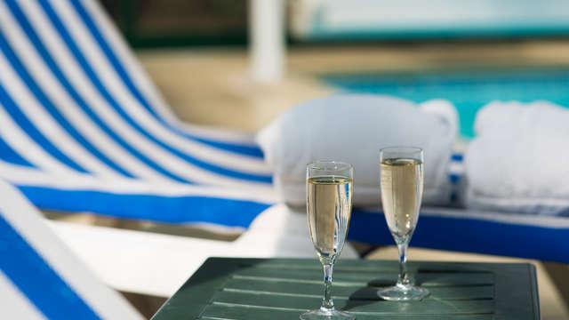 1 Coupe de champagne pour 2 adultes
