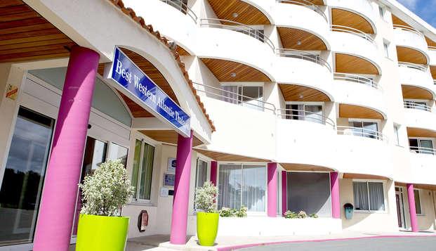 Hotel Atlantic Thalasso Valdys - Front