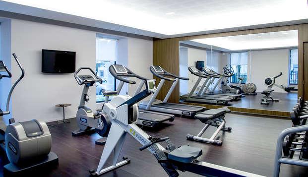 Hotel Atlantic Thalasso Valdys - Gym
