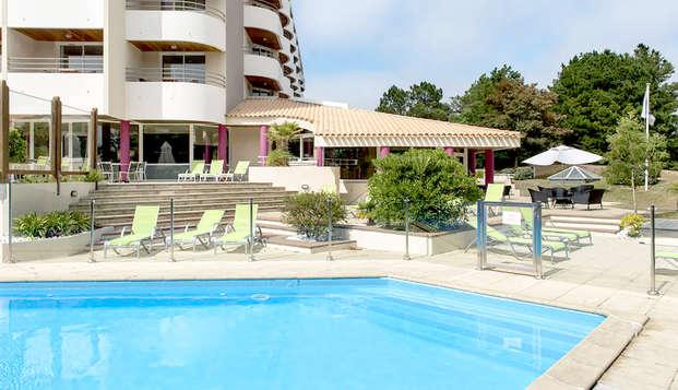 Hotel Atlantic Thalasso Valdys - Pool