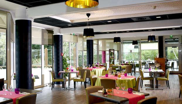 Hotel Atlantic Thalasso Valdys - Restaurant
