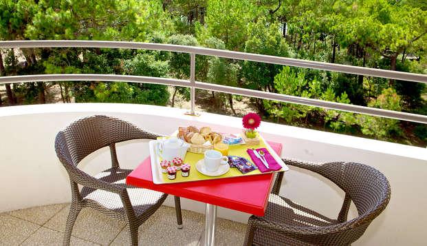 Hotel Atlantic Thalasso Valdys - Terrace