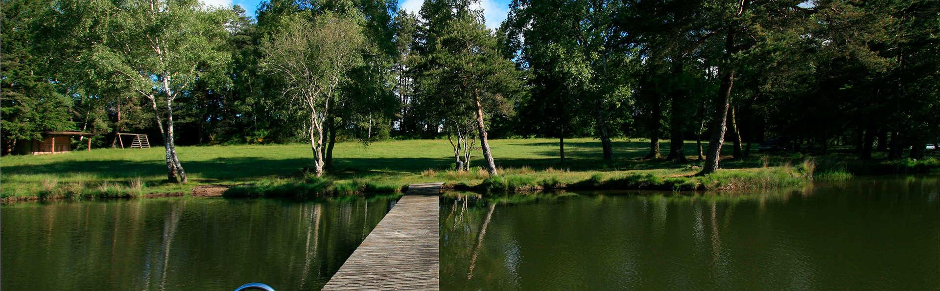 Break nature au bord d'un lac en Corrèze (à partir de 2 nuits)
