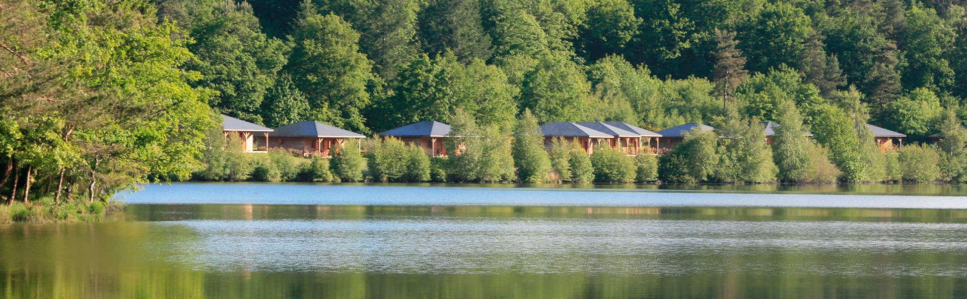 Week-end découverte dans un chalet au bord d'un lac dans le Parc Naturel Régional de Millevaches