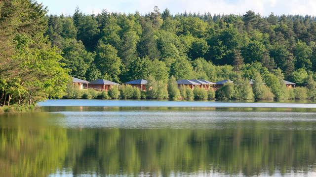 Bijzonder weekend in een vakantiehuis aan de rand van een meer in een natuurpark in Millevaches