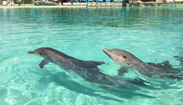 Week-end en famille avec entrée au parc aquatique Marineland